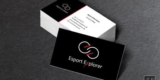 Esport Explorer Logo H2 SN-mediegrafiker