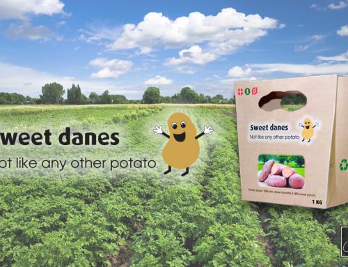 Kartoffel logo, emballage, plakat