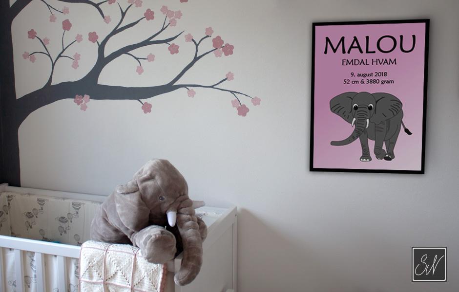 elefant plakat SN mediegrafiker